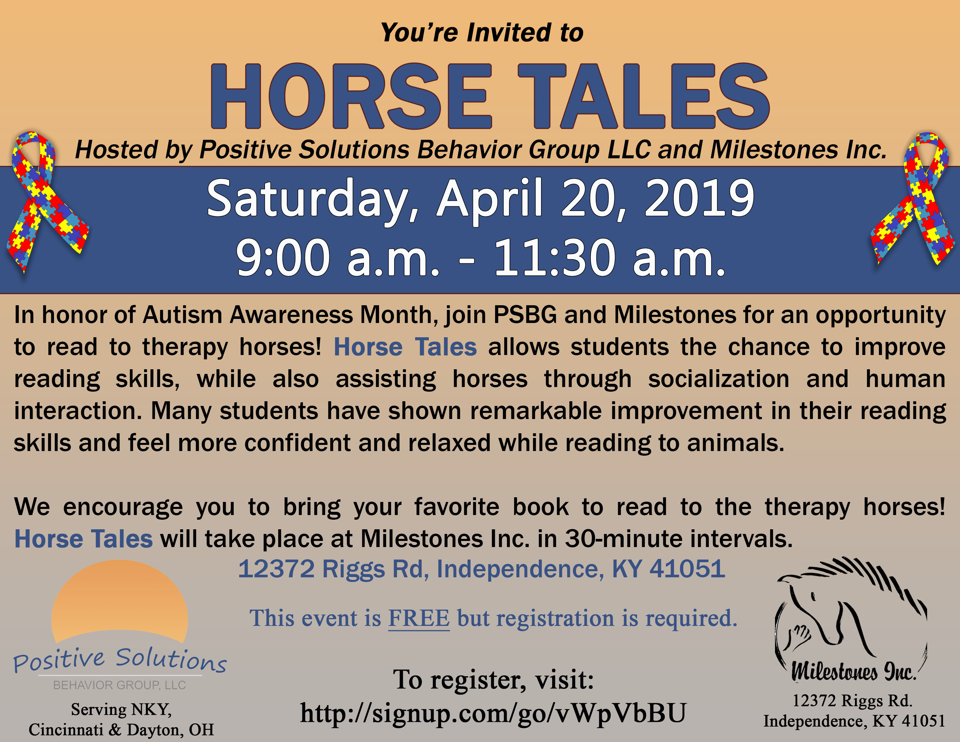 Horse Tales – This Saturday!