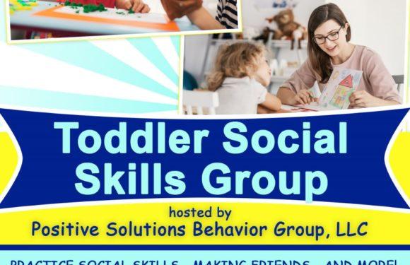 Toddler Social Skills Group