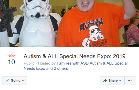 Autism & All Special Needs Expo 2019!