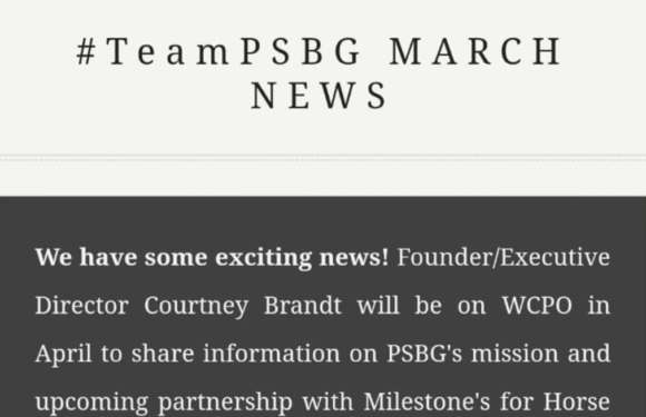 TeamPSBG March 2019 Newsletter