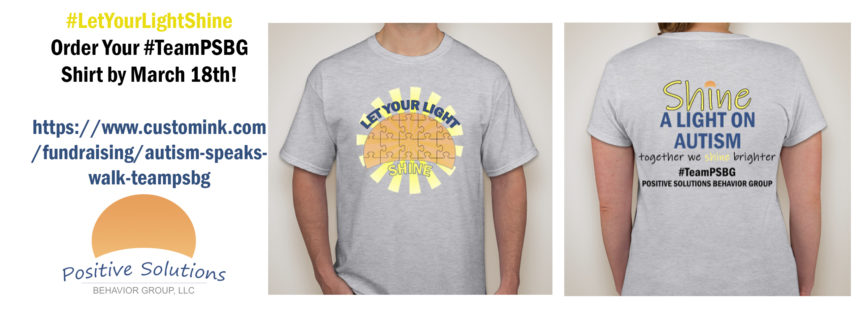 Last Day to Order #LetYourLightShine t-shirts