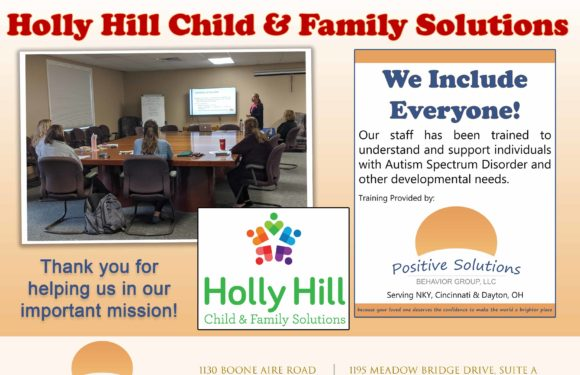 We Include Everyone at Holly Hill!