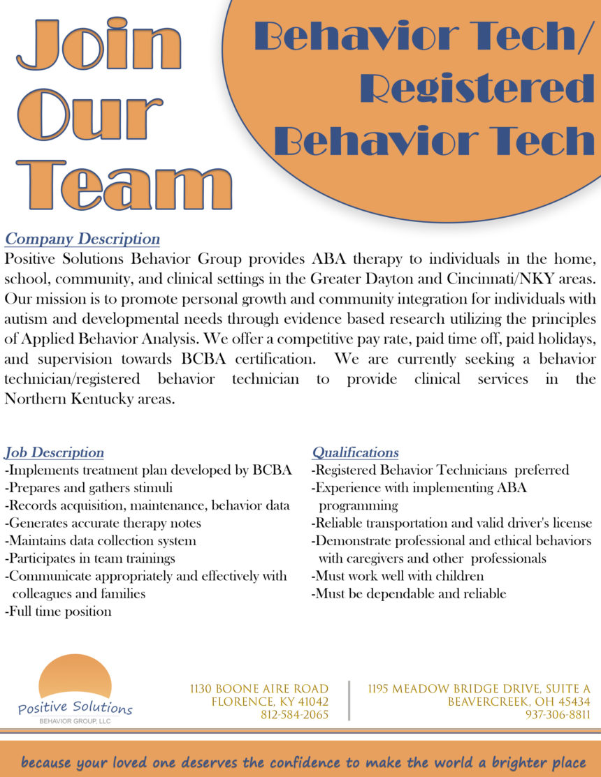 Join our NKY Team!
