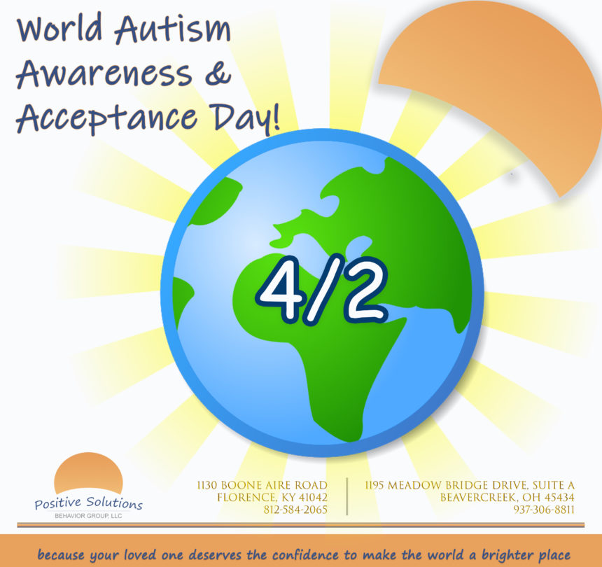 World Autism Awareness & Acceptance Day!