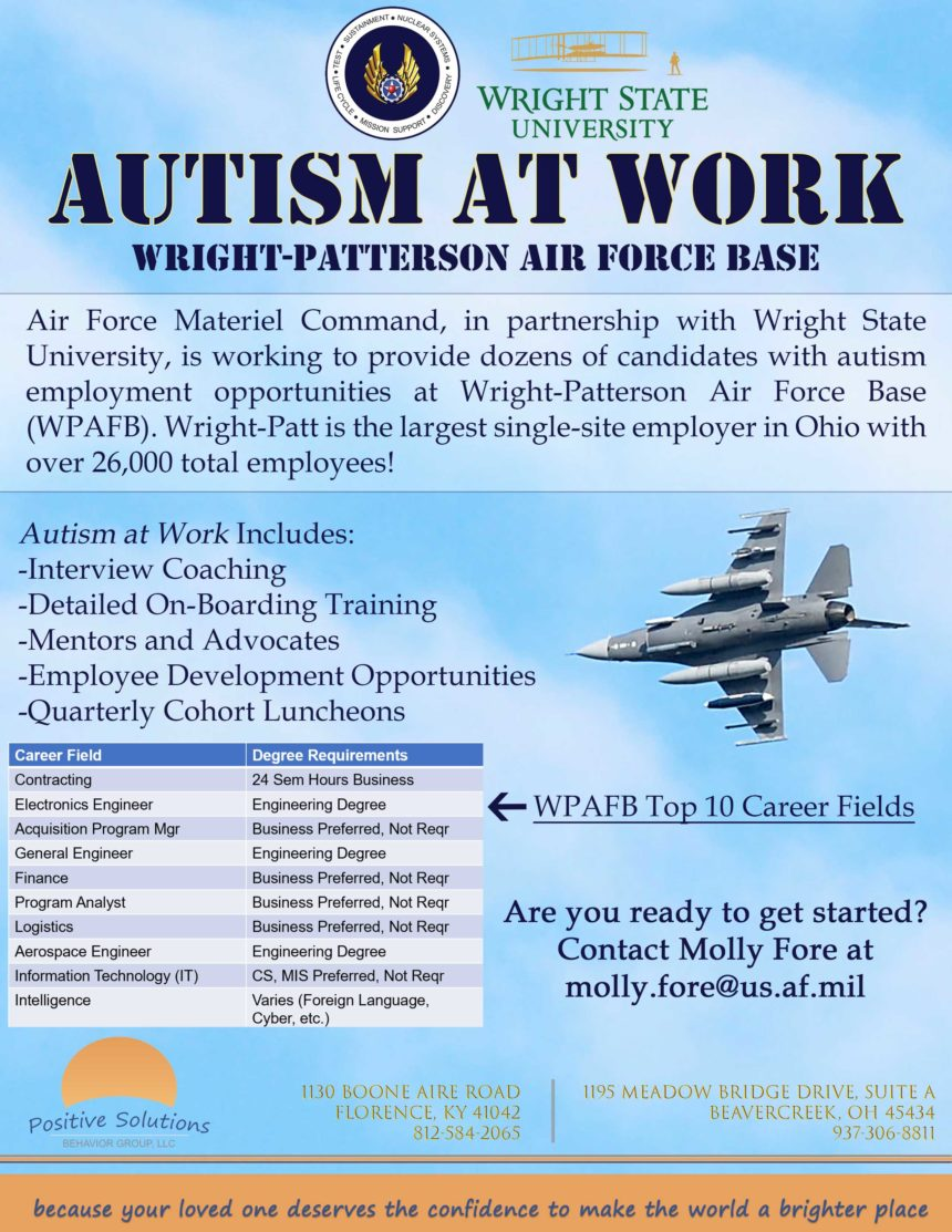 Autism at Work: WPAFB