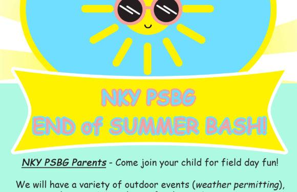 PSBG NKY End of Summer Bash