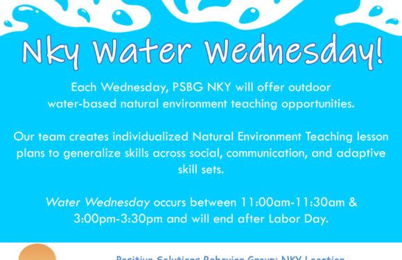 PSBG NKY Water Wednesday