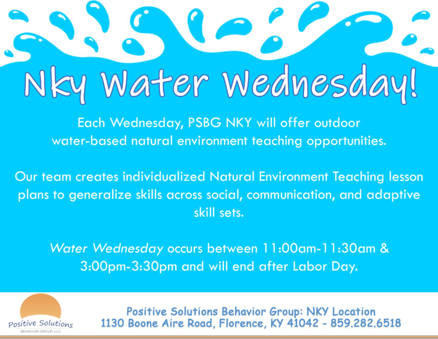 PSBG NKY Water Wednesday